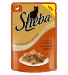 Sheba Delik Mini-Fileciki z kaczk 85g