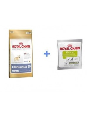 ROYAL CANIN Chihuahua Junior 500g + ROYAL CANIN Educ 50g