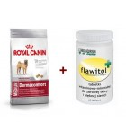 ROYAL CANIN Medium Dermacomfort + Flawitol zdrowa skóra